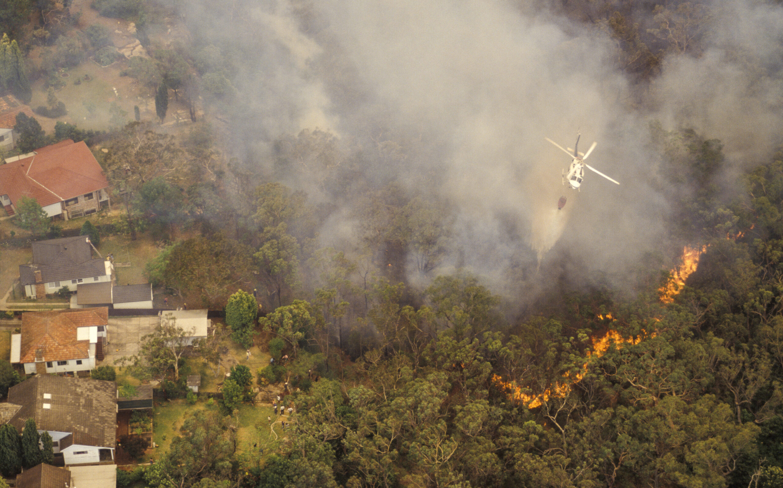 Preparing your home for a bushfire